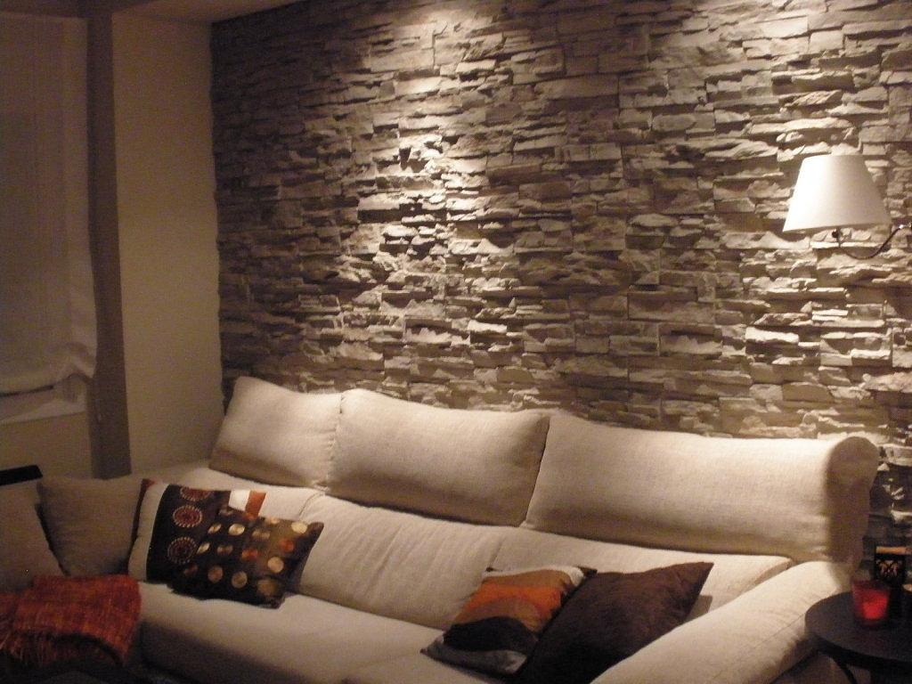 Texturas - Pared interior de piedra ...
