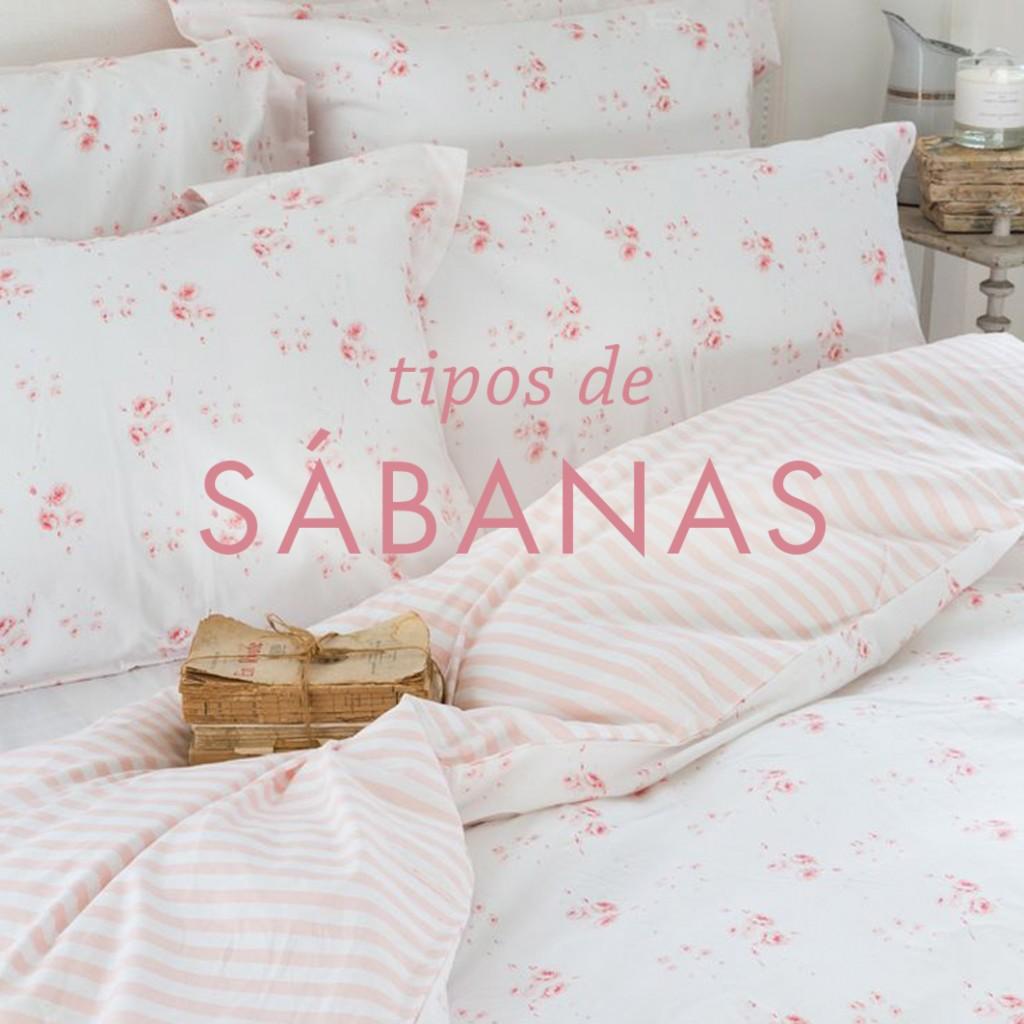 tipos de sabanas de cama