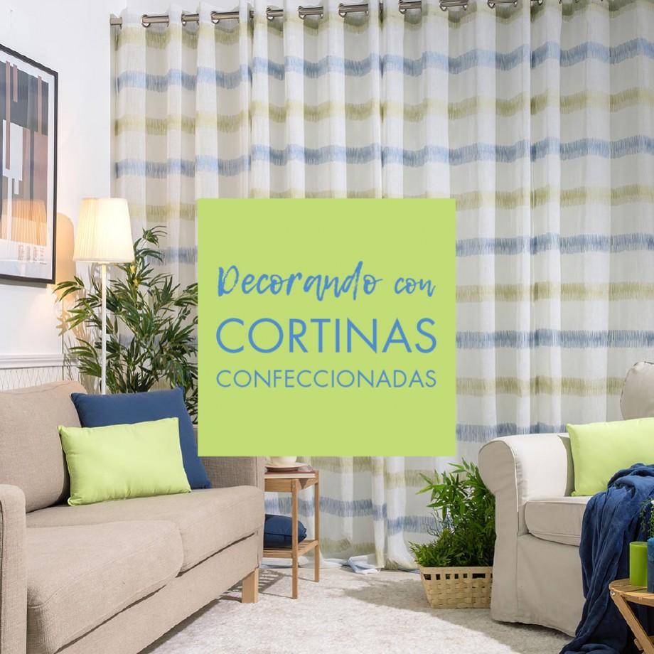 DECORACIÓN DE CORTINAS, CORTINAS CONFECCIONADAS